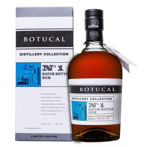 Botucal Distillery Collection No.1 Batch Kettle Rum 47% vol. 0,7l