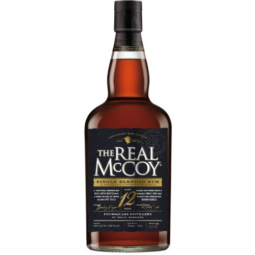 The Real McCoy 12 40% vol. 0,7l