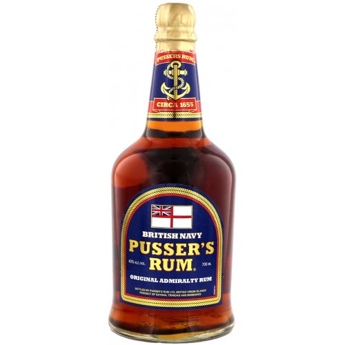 Pussers Rum Original Admiralty Blend (Blue Label) 40% vol. 0,7l