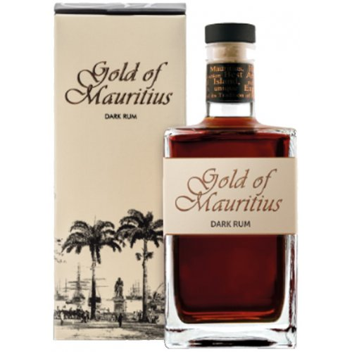 Gold of Mauritius Dark 40% vol. 0,7l