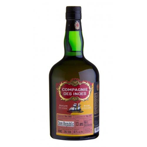 Compagnie des Indes Dom. Rep. 13 - Single Cask 46% vol. 0,7l
