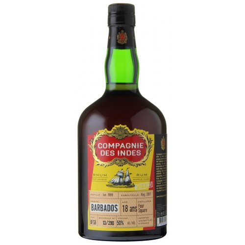 Compagnie des Indes Barbados 18 (Foursquare) - Single Cask 50% vol. 0,7l