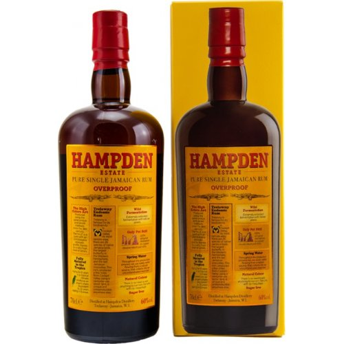 Hampden Estate 7 Pure Single Jamaican Rum 60% vol. 0,7l