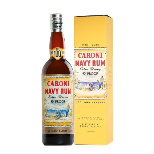 Caroni Navy Rum 100th Anniversary 18 51,4% vol. 0,7l