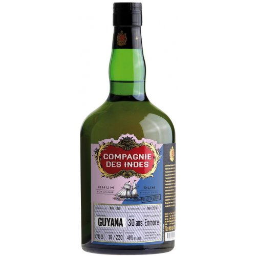 Compagnie des Indes Guyana 30 (DDL, Enmore) - Single Cask 48% vol. 0,7l