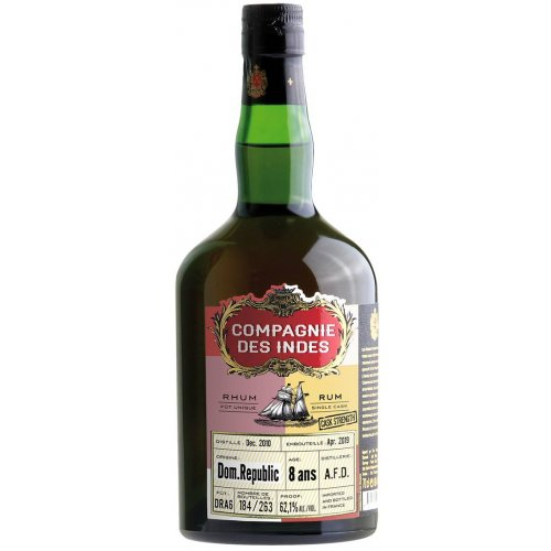Compagnie des Indes Dom. Rep. 8 (A.F.D.) - Single Cask 62,1% vol. 0,7l